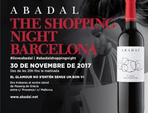 Abadal se vuelve a vestir de gala para la Shopping Night de Barcelona