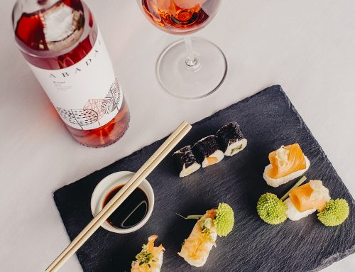 Sushi and wine, an exotic pairing