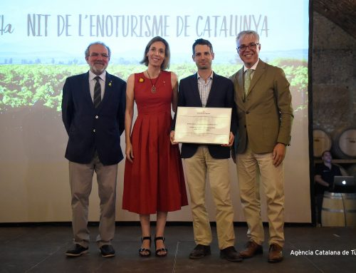 Abadal wins award for the best wine tourism experience