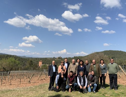 The Abadal Winery presents the Mandó project to the Minister of Agriculture, Teresa Jordà