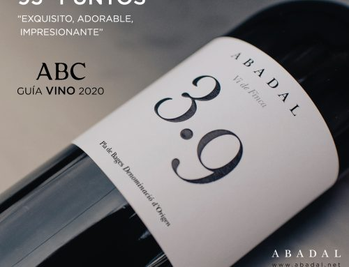 Abadal 3.9 2016 is awarded 95 points by the prestigious ABC wine guide