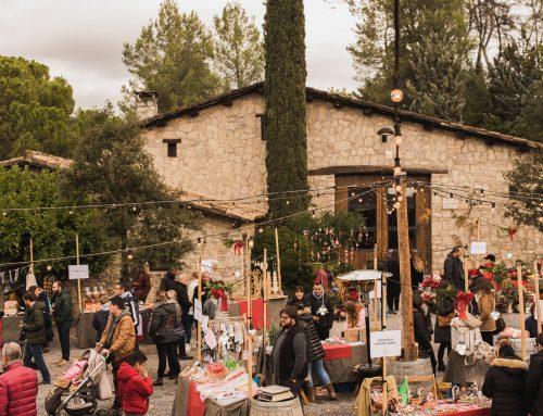 Abadal omple el celler i el tastos en un consolidat Abadal Christmas Market & Wine Experience